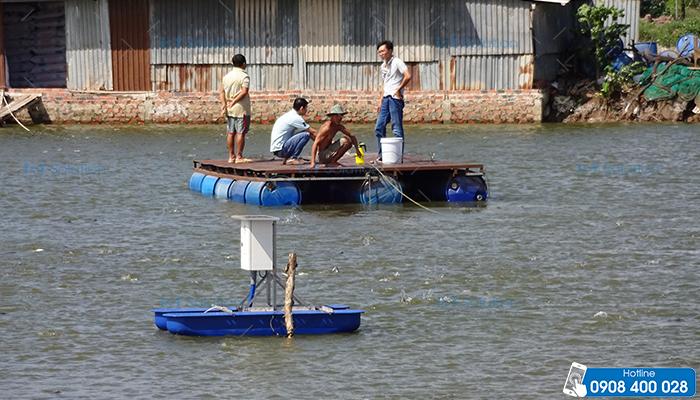Đánh giá chất lượng nước nuôi trồng thủy sản bằng IoT